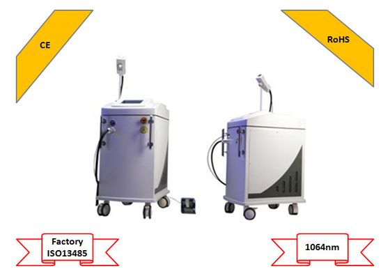 Cina Painless Permanen IPL Laser Machine Hair Removal Pulse Lebar 10/20/30 / 40ms pemasok