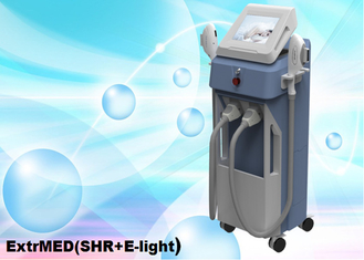 Cina SHR Hair Removal Machine 3500W Vertical 2Handles ExtrMED (SHR + E-light) pemasok