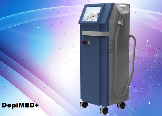 Cina 808nm industri laser hair removal mesin 800W High Power 10-1500ms Duration Pulse pemasok