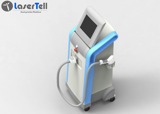 Triple Wavelength Diode IPL Laser rf facial machine 1 - 10Hz Frequency Accurate Treatment
