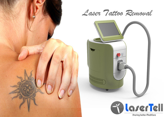 1000J Energi Maksimal ND Yag Laser Tattoo Removal Machine Dengan Honeycomb Tip