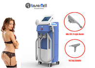 3 In 1 Nd Yag Laser IPL SHR Mesin Hair Removal Vascular Treatment Pelangsing Tubuh